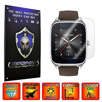 X-Skinz ASUS ZenWatch 2 - Juego de 4 Protectores de Pantalla para Reloj Inteligente