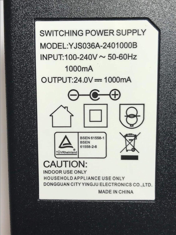 Dymo Labelwriter 400 Label Printer 24V 1A Mains AC-DC Adaptor Power Supply PSU