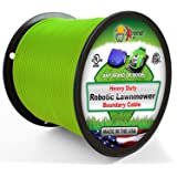 Extreme Consumer Products Universal Heavy Duty Automatic Lawnmower Boundary Wire - 500' 14 Gauge Thick Professional…