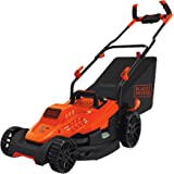 BLACK+DECKER Electric Lawn Mower, 10 -Amp, 15-Inch (BEMW472BH)