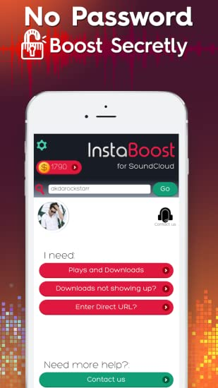 InstaBoost for SoundCloud - Get Plays, Followers, Downloads, & Reposts