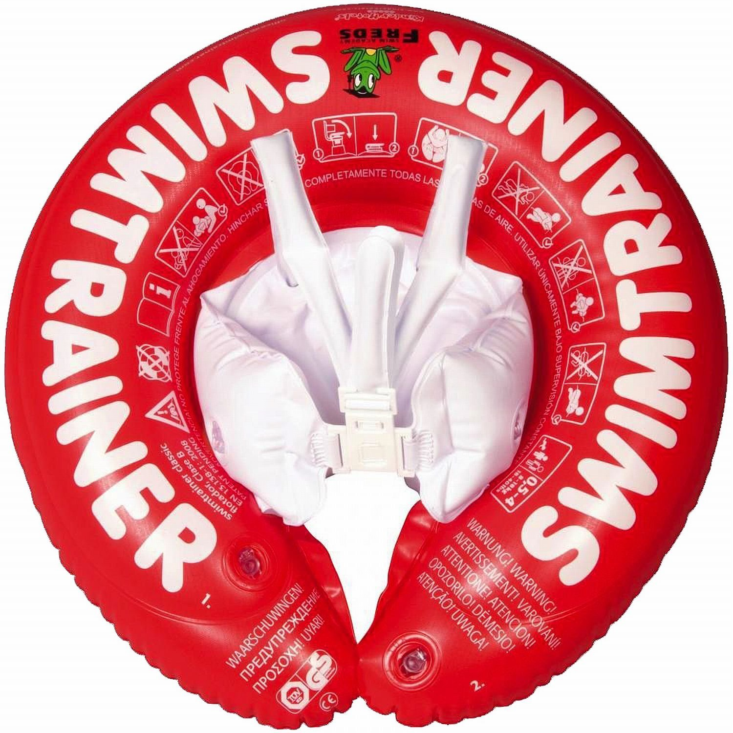 Fred's Swim Academy 10102 SwimTrainer Classic - Red (3 months - 4 years) by FREDS SWIM ACADEMY