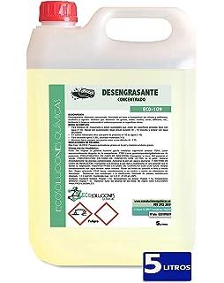 Desengrasante concentrado enérgico biodegradable. Envase de 5 ...