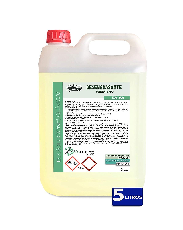 Ecosoluciones Químicas ECO-109 | Desengrasante Concentrado ...