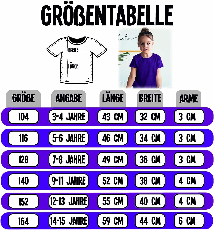 Shirtracer M/ädchen Kinder T-Shirt Oktoberfest /& Wiesn Kind Herzmadl