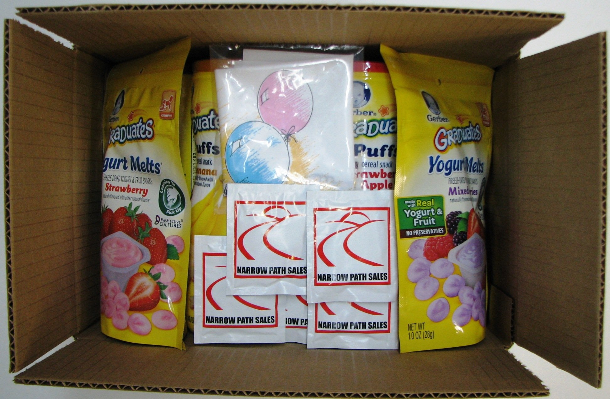 Gerber Graduates Cereal Variety Snack Pack Sampler of Puffs, Yogurt Melts, Lil Crunchies + 1 Snack Catcher; Bundle of 10 by Narrow Path Sales (Image #5)