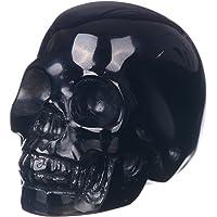 Mineralbiz - Calavera de cristal tallado, obsidiana natural