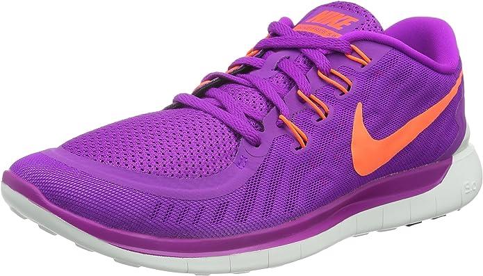 Nike Wmns Free 5.0, Zapatillas de Running para Mujer, Morado (Purple), 36 EU: Amazon.es: Zapatos y complementos
