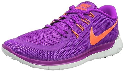 purchase cheap 6f443 c6bc7 Nike Wmns Free 5.0, Calzado Deportivo para Mujer Amazon.es Zapatos y  complementos