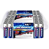 ACDelco AA Batteries, Alkaline Battery, Bulk Pack, 100 Count