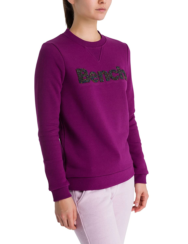Bench Damen Sweatshirt Logo Crew Neck