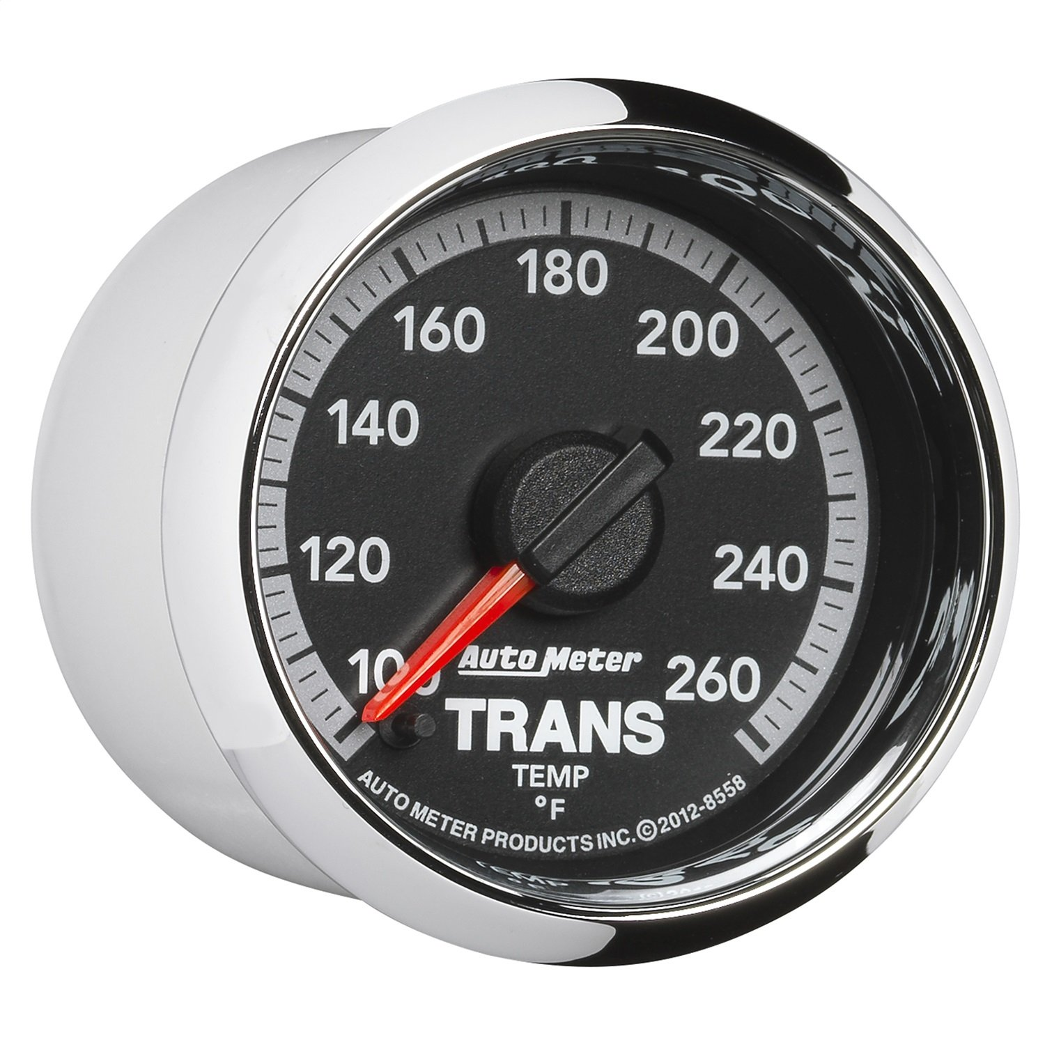 Auto Meter 8558 Factory Match 2-1/16'' Electric Transmission Temperature Gauge (100-260 Degree F, 52.4mm) by Auto Meter (Image #3)