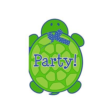 Amazon creative converting mr turtle birthday party creative converting mr turtle birthday party invitations 8 count filmwisefo