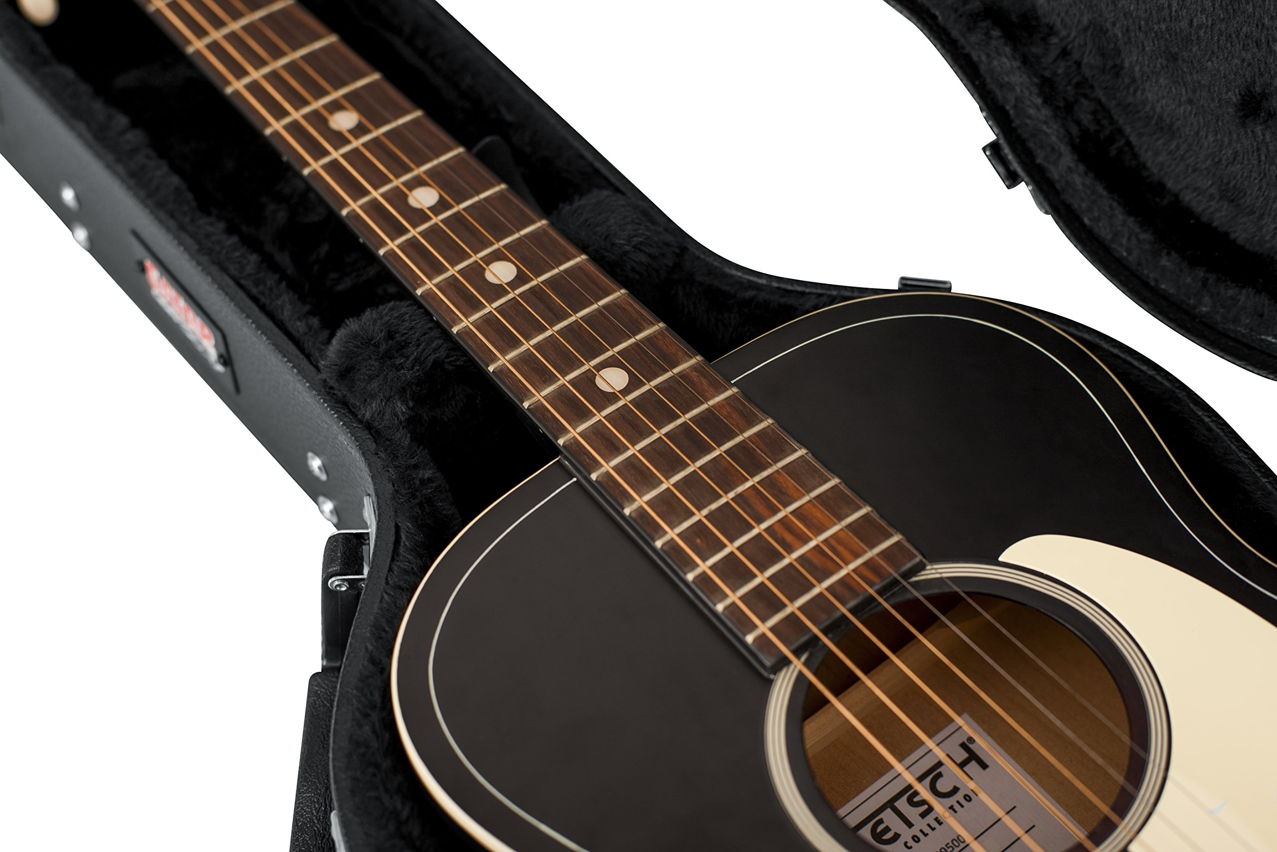 Gator Cases Hard-Shell Wood Case for 3/4 Sized Acoustic Guitars (GWE-ACOU-3/4) by Gator (Image #11)