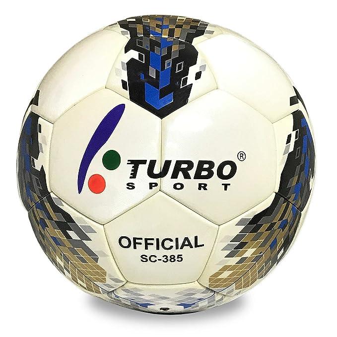 Turbo Sport sc-385 Balón de Fútbol Oficial Tamaño 5 Piel sintética ...