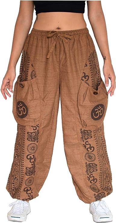 SHC Pantalones Aladin Harem Bombachos para Hombre y Mujer 100 ...