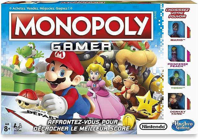 Hasbro Monopoly Gamer Niños Simulación económica - Juego de Tablero (Simulación económica, Niños, Niño/niña, 8 año(s), Francés, Francés): Amazon.es: Juguetes y juegos