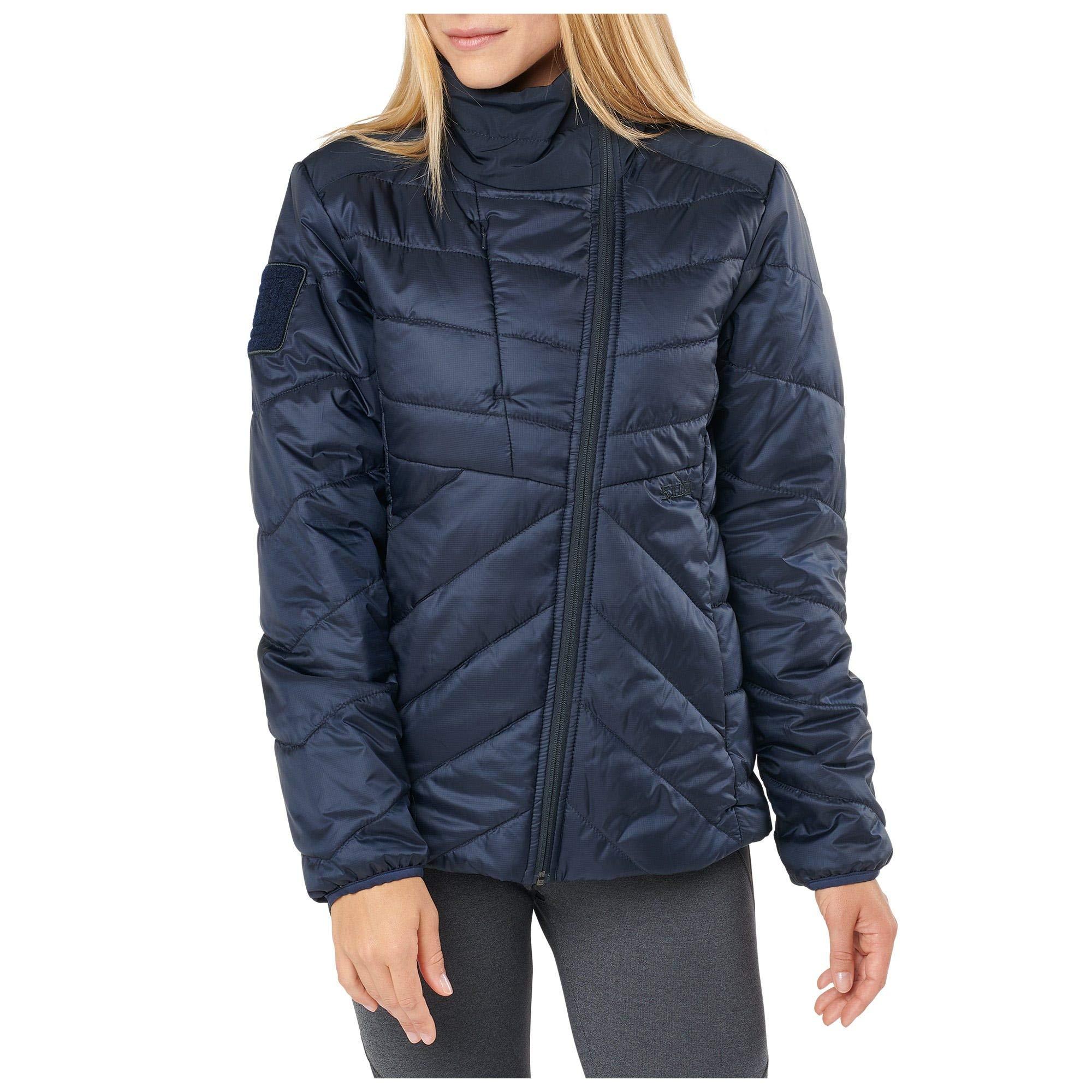 5.11 Tactical Women's Peninsula Insulator Packable Jacket, Peacoat, S, 38076 by 5.11
