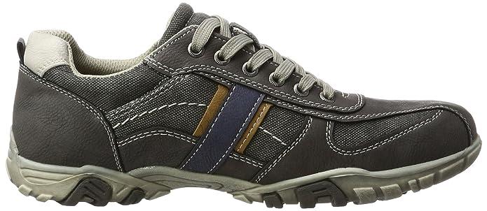 2716201 - Tobillo bajo de Piel sintética Hombre, Color Gris, Talla 42 EU BM Footwear