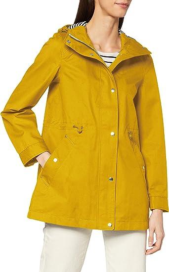 Joules Shoreside Veste Femme Manteau-Antique Gold Toutes Tailles