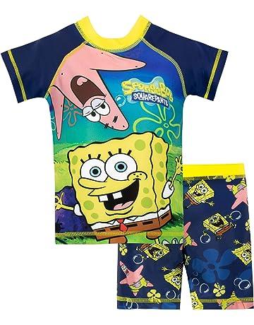 dfe82e907 Spongebob Boys Sponge Bob Squarepants Swim Set