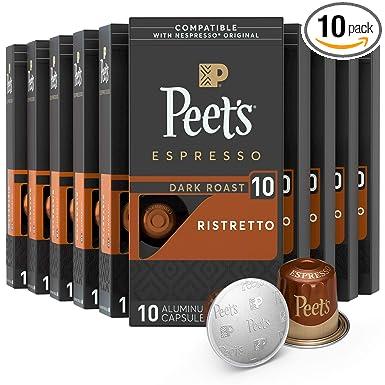 Peet's Coffee Espresso Capsules Ristretto