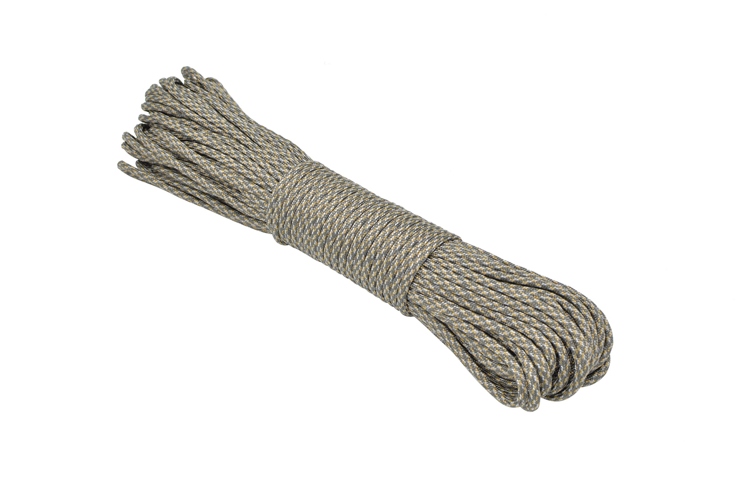Paracord Rope 550 Type III Paracord - Parachute Cord - 550lb Tensile Strength - 100% Nylon - Made In The USA (ACU Digital, 100 Feet) by Paracord Rope (Image #2)
