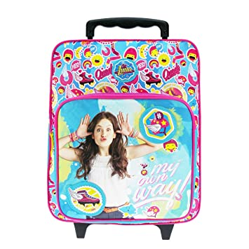 2e32344f95c Buy Vadobag - Soy Luna Backpack Trolley with Wheels Measures 35X28X12  Online at Low Prices in India - Amazon.in