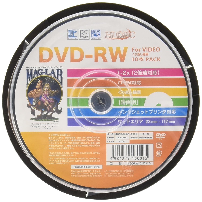Amazon | HI-DISC 録画用DVD-RW ...