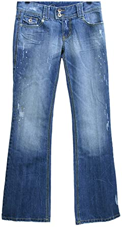 Amazon.com: YMI Jeans Premium Juniors Fit and Flare Jean, Ocean ...