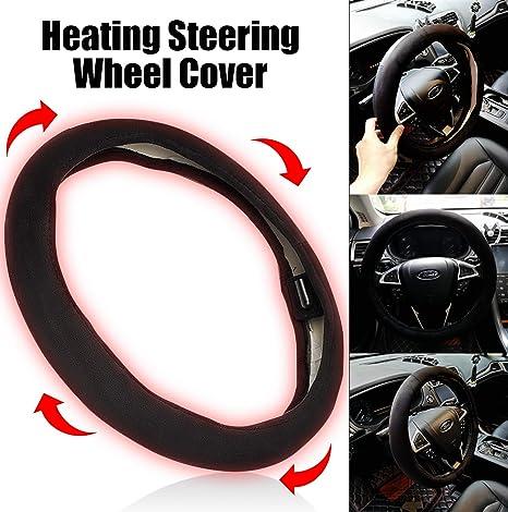 Coprivolante riscaldante per auto