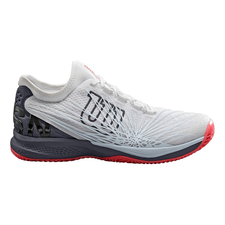 Blanc gris Rouge 46 2 3 EU WILSON KAOS 2.0 SFT, Chaussures de Tennis Homme