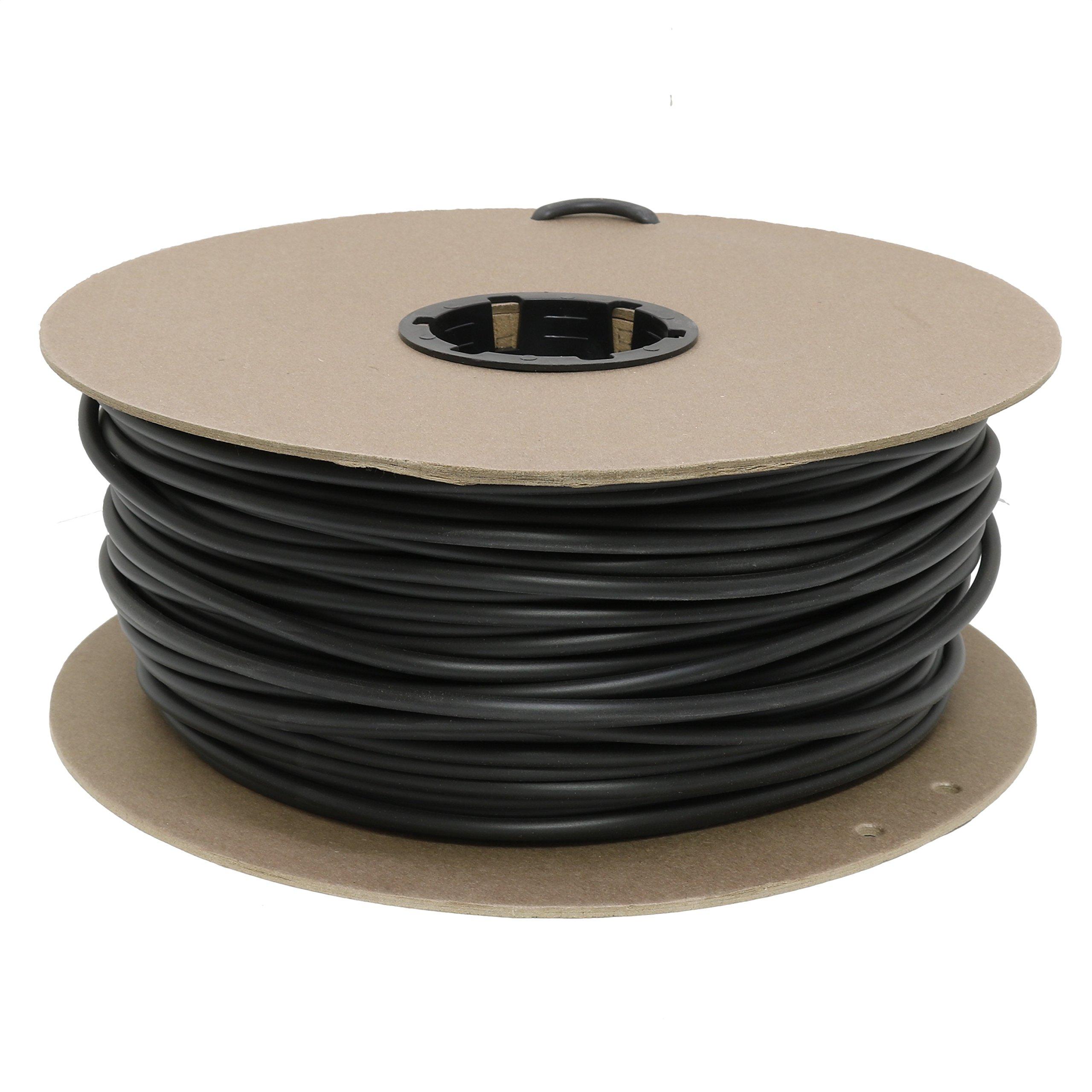 Drip Depot Vinyl Tubing - Size : 1/4 - Length : 500' - Color : Black