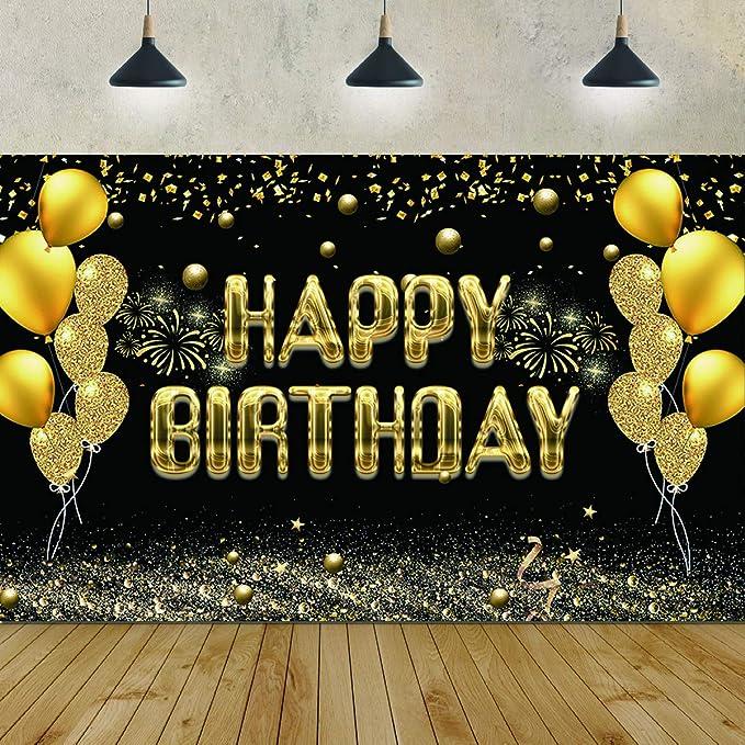 Alles Gute Zum Geburtstag Party Hintergrund Banner Kamera