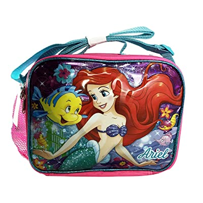 Disney The Little Mermaid Ariel Pink Insulated Lunch Bag: Baby