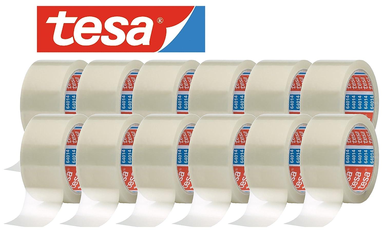 Cinta adhesiva embalaje de embalaje adhesiva (64014) de Tesa (66 m x 50 mm) de10c7