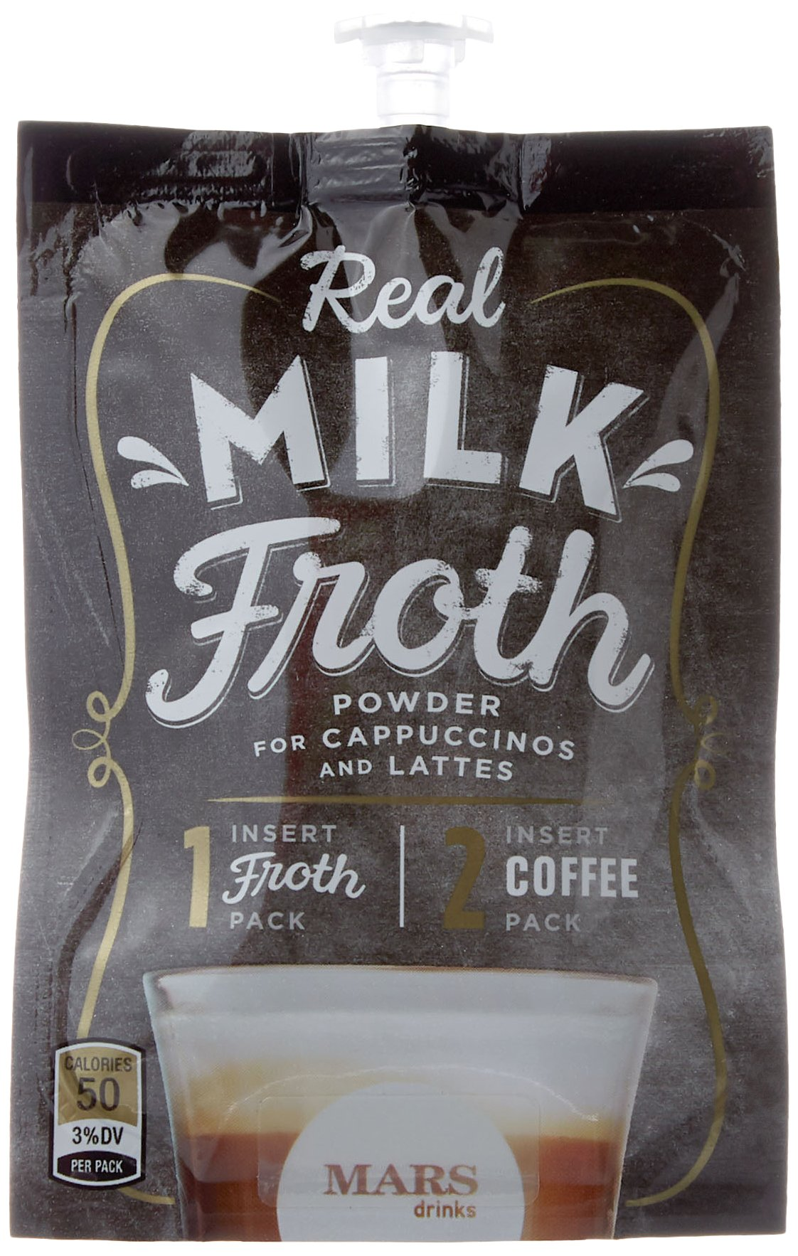 Amazon.com : Mars Flavia Alterra Real Milk Froth, Original, 72 Count (Formerly Fabulous Froth)(Packaging may be vary) : Grocery & Gourmet Food