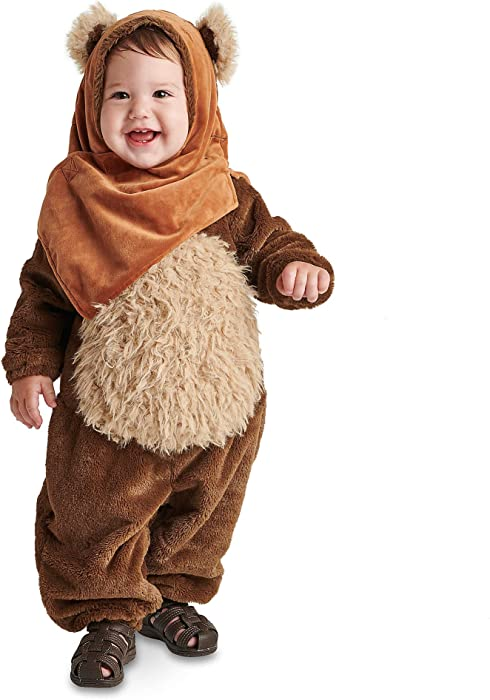 ebc350924 Amazon.com: Star Wars Ewok Costume for Baby Size 12-18 MO Multi ...