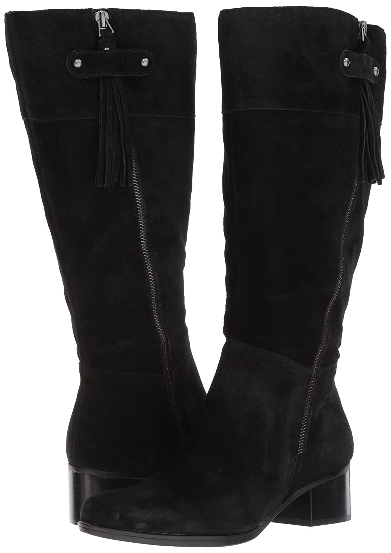 Naturalizer Women's Demi Wc Riding Boot B01MT3KMJZ 5.5 B(M) US|Black