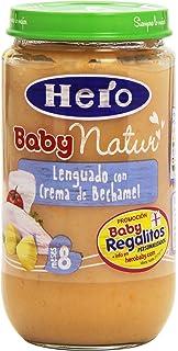 Hero - Baby Natur - Lenguado con crema de Bechamel para 8 meses - 235 g