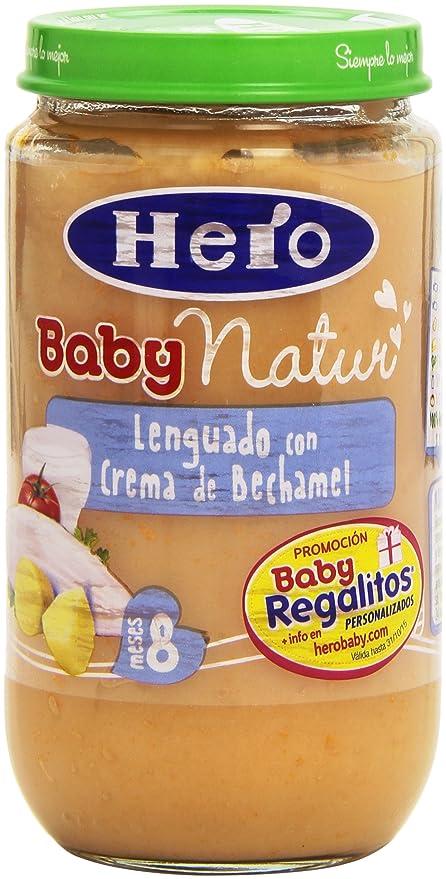 Hero Baby Natur Lenguado con Crema de Bechamel para 8 Meses ...