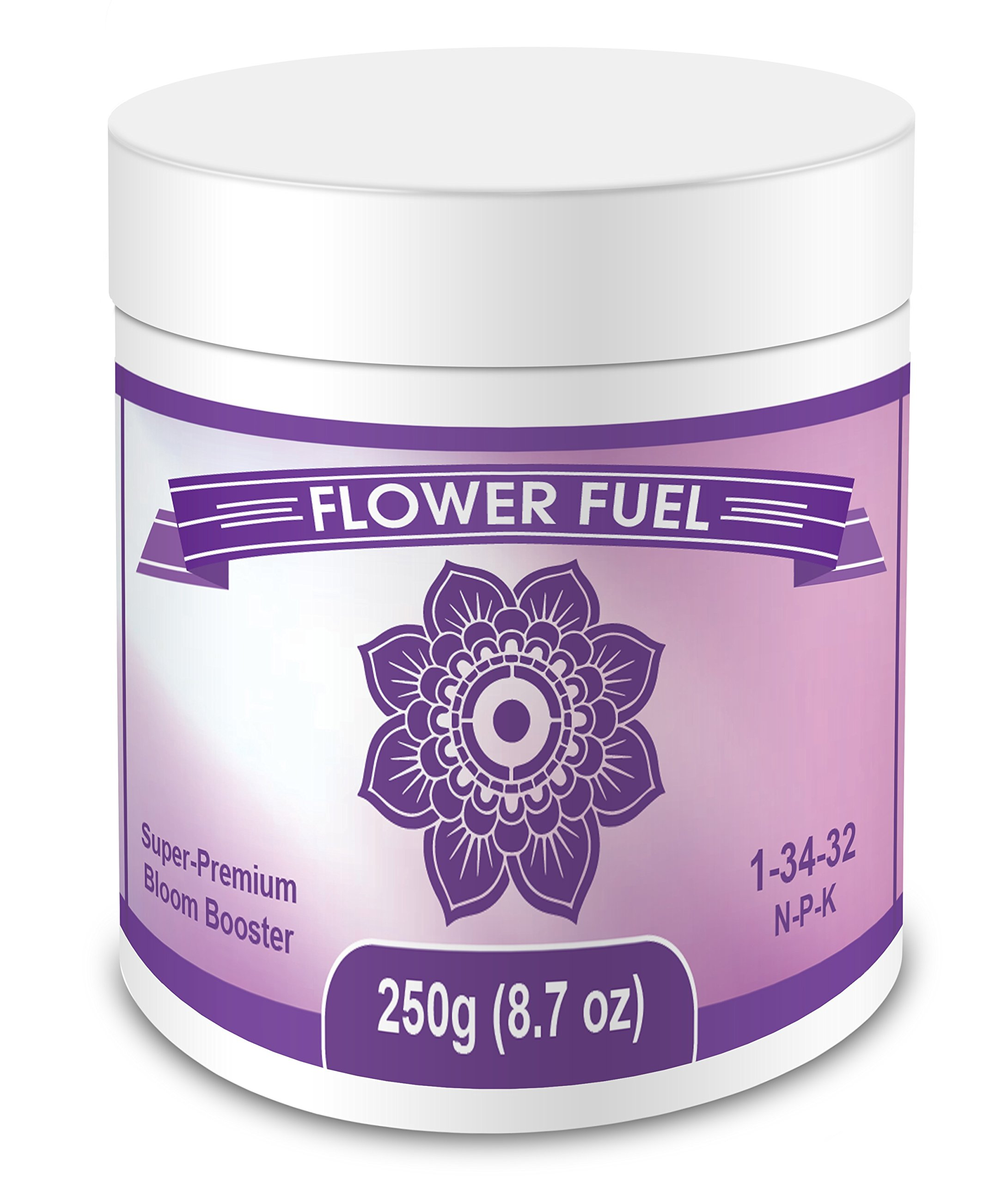 Flower Fuel 1-34-32, 250g - The Best Bloom Booster For Bigger, Heavier Harvests (250g) by Element