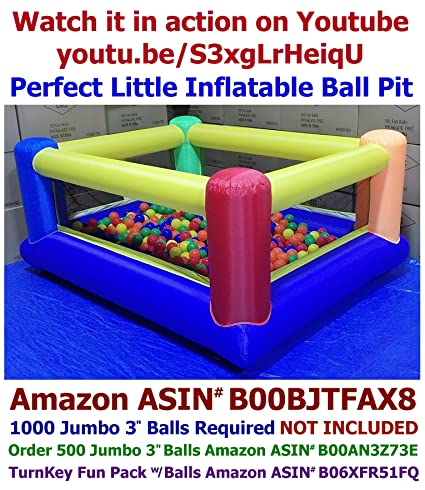 033e6a020551 My Bouncer Perfect Little Ball Pit - Great for Indoor Use - 84 quot  L x
