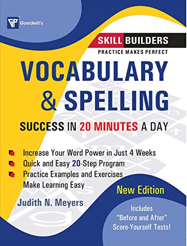 Vocabulary & Spelling: Success in 20 Minutes a Day