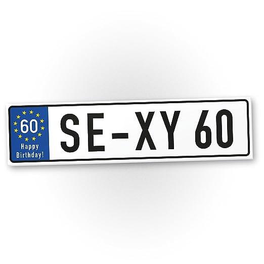 DankeDir!. Sexy 60 años plástico Cartel años - 60 cumpleaños ...
