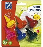 Lefranc Bourgeois - 807045 - Loisir Créatif - Baby Crayon Education - 6 Crayons - Assortiment