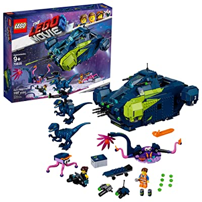 LEGO The Movie 2 Rex's Rexplorer; 70835 Building Kit, Spaceship Toy with Dinosaur Figures (1172 Pieces): Toys & Games