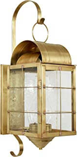 product image for Brass Traditions 120-P SHDB Large Wall Lantern 100 Series Profile Bracket, Dark Brass Finish 100 Series Profile Bracket Wall Lantern