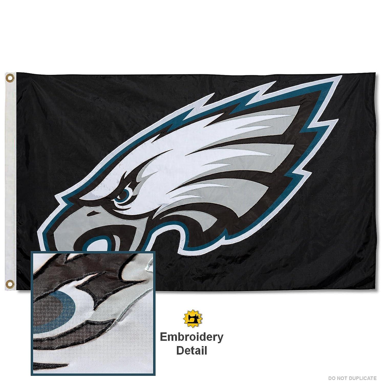 Philadelphia Eagles刺繍ナイロンフラグ   B074QFTLW1