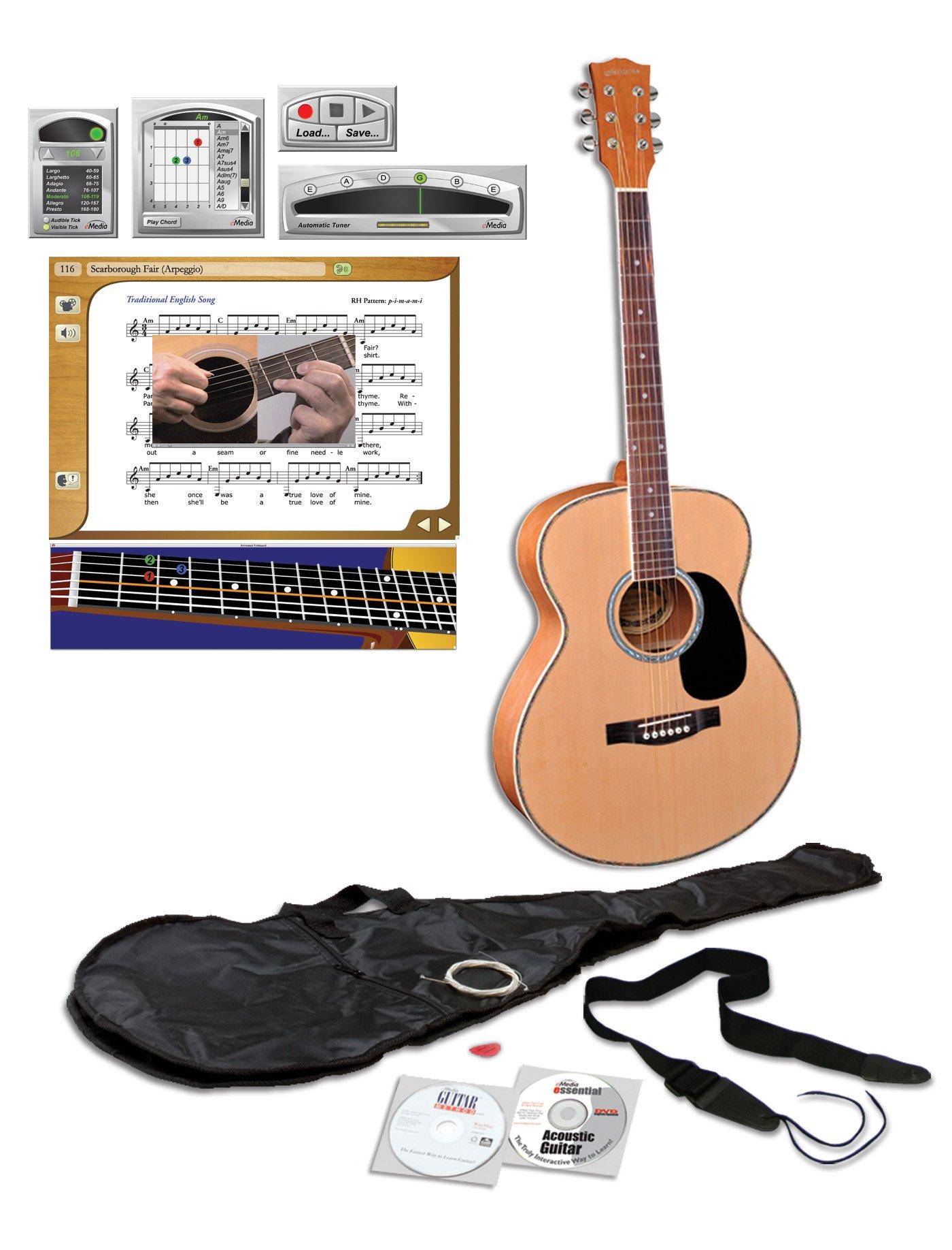 eMedia Teach Yourself Acoustic Guitar Pack (Steel-String)